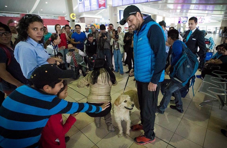El can en aeropuerto internacional de Quito