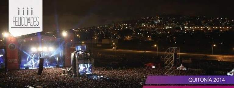 El festival Quitonía, que se desarrollló el 3 de diciembre en la capital, congregó a más de 40.000 personas.