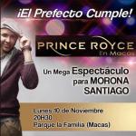 Prince Royce en Macas