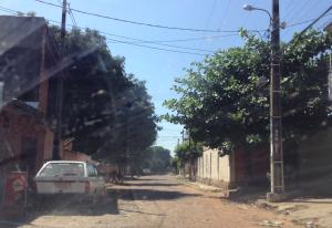 Calle barrio Nuestra Sra
