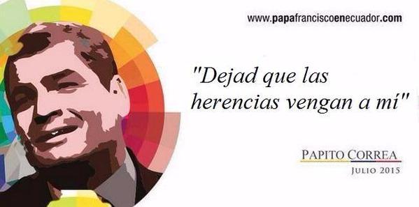 Meme del pdte Correa a partir de las vallas del gobierno_2